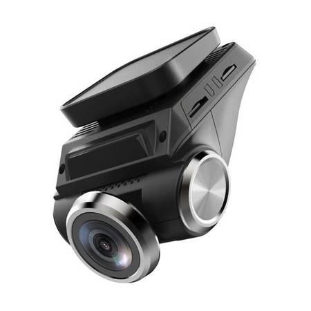 第1现场  X7 行车记录仪手机APP远程监控24小时 前后双镜头高清夜视 送16G卡读卡器