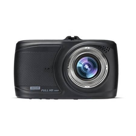 第1现场 A906 单镜头行车记录仪高清1080P 170度大广角循环录影重力感应 送16G卡读卡器