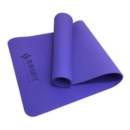 居康 (jufit)高密度瑜伽垫 初学加长加厚瑜伽防滑垫健身垫 TPE