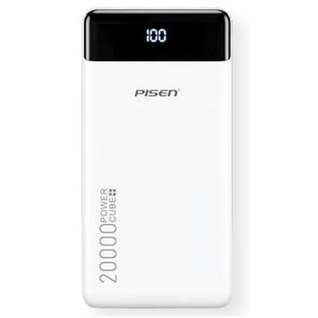品胜/PISEN LED屏显充电宝20000毫安时快充大容量移动电源