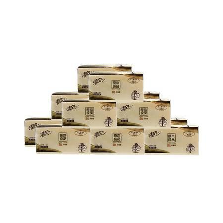 清风 BR65A原木升级装抽取纸3层150抽(2提12包)