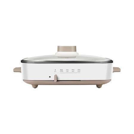 美的网红多功能锅料理锅电烧烤锅电煎锅MC-DY3020Power101(仅含平面煎盘*1)