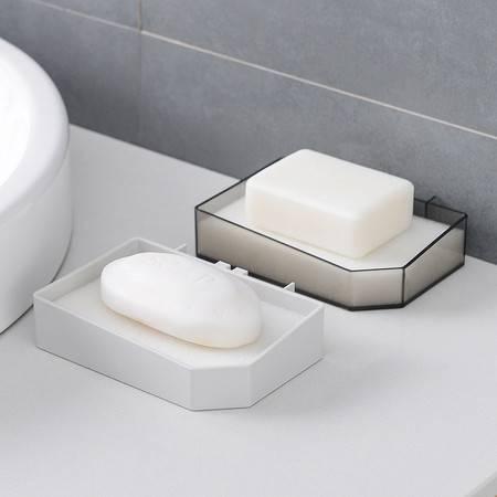 【2只装】浴室免打孔 强力粘贴 肥皂盒 创意沥水卫生间壁挂式免打孔皂架托香皂盒