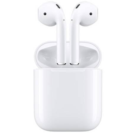 苹果/APPLE AirPods 2019年款 有线充电款 配充电盒 苹果蓝牙无线耳机