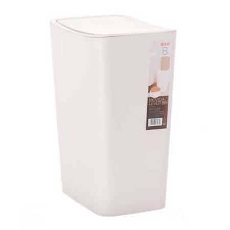 禧天龙 大号 家用塑料有盖垃圾桶 12L  3073