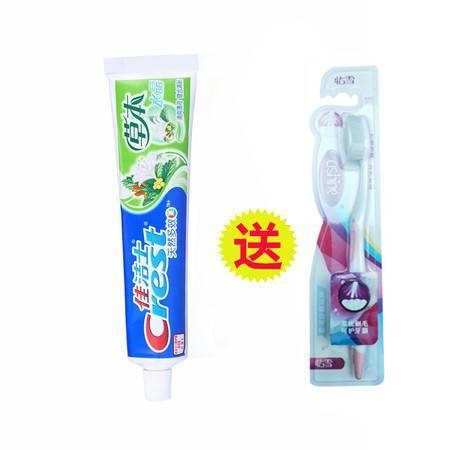 佳洁士/CREST 草本水晶牙膏90g+牙刷1支
