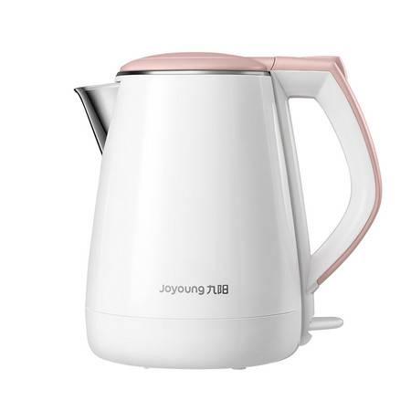 Joyoung/九阳 K15FD-W130电热水壶304不锈钢自动断电双层家用开水煲