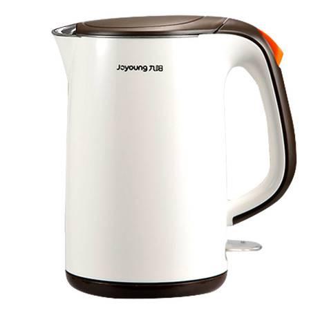 九阳电热水壶烧水壶家用保温304不锈钢自动断电开水壶1.7L