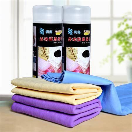 利临多功能鹿皮巾小号干发帽擦头巾擦车巾洗车巾宠物巾(33*43)