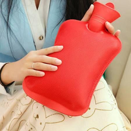 怀旧充水热水袋 冲水热水袋 大号热水袋 加厚橡胶注水暖水袋 大号颜色随机