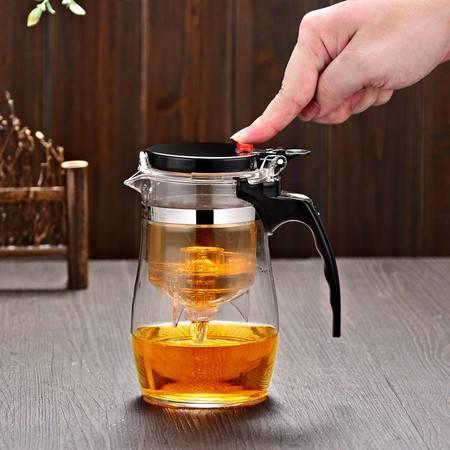 花茶壶飘逸杯 功夫茶具可拆洗内胆泡茶杯水杯茶壶办公杯800ml