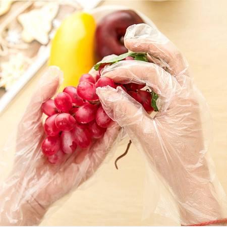 500只装一次性手套 PE手套 食用薄膜手套 卫生手套