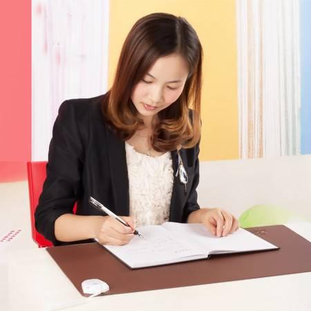 暖之缘六档控温远红外碳晶电暖垫书写垫暖桌垫30X60cm大号款 30x60cm棕色