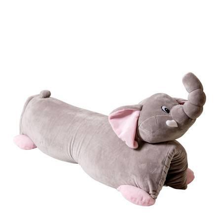 Laytex 乐泰思 泰国天然乳胶婴幼儿童卡通枕头玩具枕0-1-3-6岁(皮皮象)