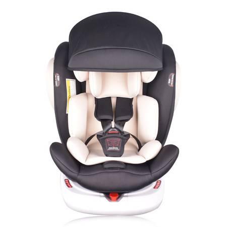 机灵宝贝 ISOFIX接口 360度旋转 0-12岁 0-36KG婴儿可躺可坐汽车儿童安全座椅