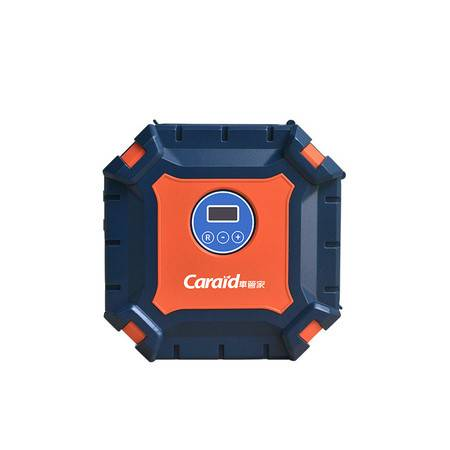 车管家 车用充气泵数显便携电动打气泵预设胎压自动充停快速充气小汽车轮胎加气泵车载充气泵GJ-8012