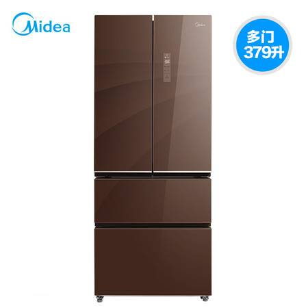 Midea/美的 BCD-379WGPZM(E)四门冰箱多门风冷无霜家用变频电冰箱