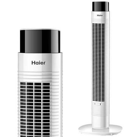 海尔/Haier 电风扇塔扇 家用无叶风扇 香薰柔风塔扇 FZJ9007A