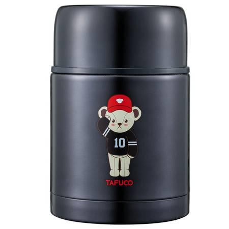 泰福高(TAFUCO)泰迪焖烧壶 粥桶超长保温水杯便携真空保温饭盒750ML