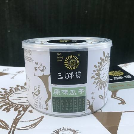 【北京馆】三胖蛋原味瓜子分享装218g单罐