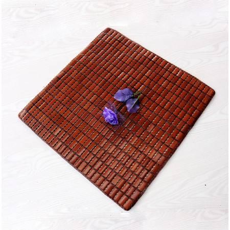 坐垫 竹子座垫 夏天凉垫 麻将凉席 沙发垫 牛筋边 40x40cm