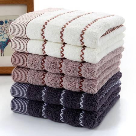 易洋 家用纯棉毛巾 柔软吸水的洗脸毛巾