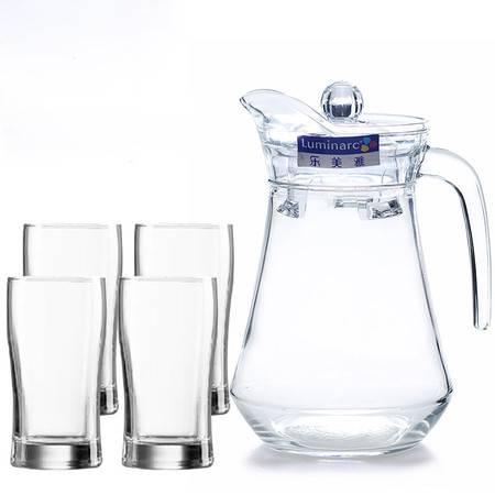 家用冷水壶玻璃杯套装 鸭嘴壶水壶杯子凉水壶水