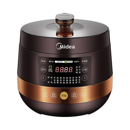 美的/MIDEA 家用智能电压力锅 双胆高压饭煲 4.8L