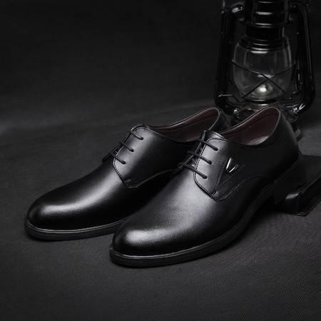 米斯康男士休闲鞋牛皮皮鞋商务板鞋男鞋子男潮鞋透气休闲男鞋61663