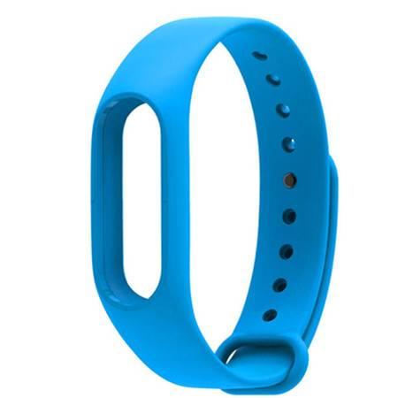 小米手环2代腕带 小米手环2代蓝色绿色黑色原装腕带 运动手环替换多彩防水腕带