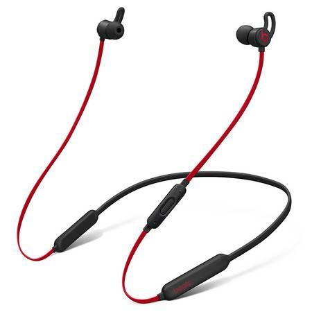 苹果/APPLE Beats X 蓝牙无线入耳式耳机 带麦可通话 -桀骜黑红(十周年版) MRQA