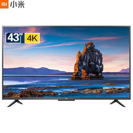 小米/MIUI 小米电视4S 43英寸人工智能语音网络平板电视 1GB+8GB HDR 4K超高清