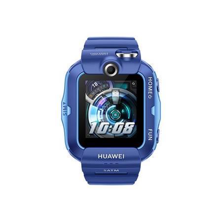 华为/HUAWEI 儿童电话手表4X 通话定位手表 高清双摄像头/4G全网通/11重定位 学生手表