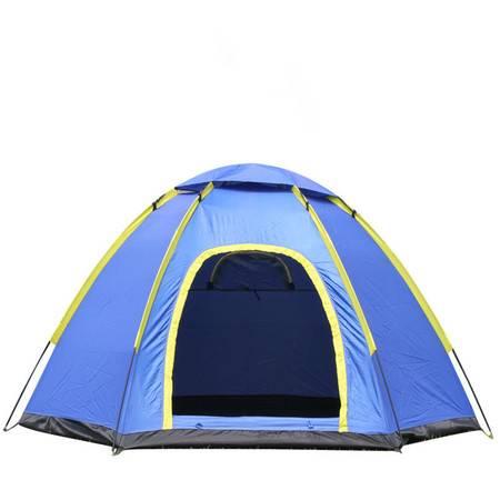 洋湖轩榭 户外帐篷六角野营露营装备 防风防暴雨帐篷