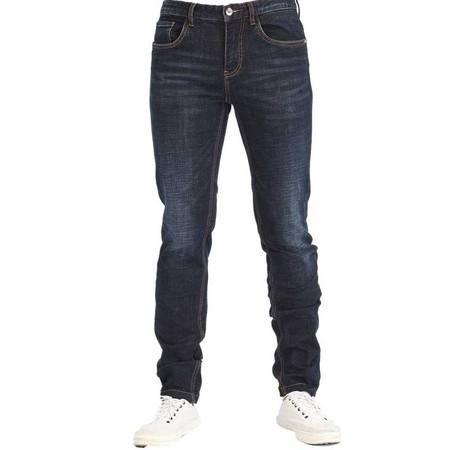 汤河之家  牛仔裤男宽松直筒长裤男士秋冬青年休闲牛仔裤男式男裤 5297