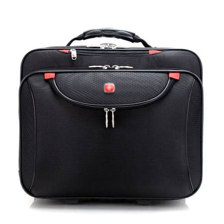 小童马 尼龙拉杆箱韩版牛津布旅行箱商务拉杆包18寸电脑拉杆包
