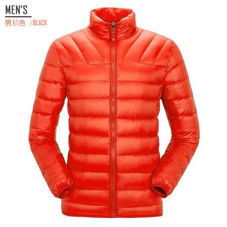 汤河之家 户外休闲羽绒服防寒保暖男女薄款羽绒外套可配冲锋衣内胆