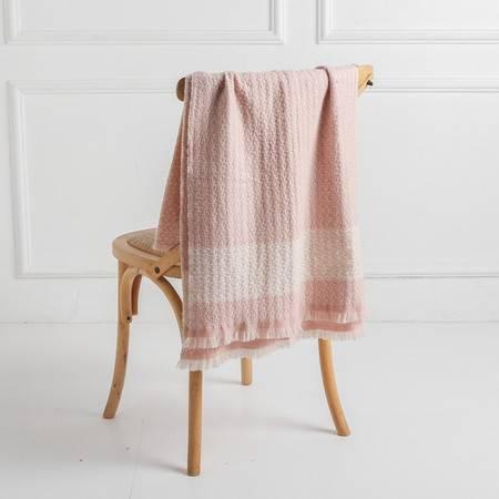 施悦名 韩版小香女人味针织纯羊绒围巾A