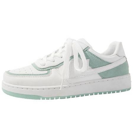小童马 女鞋新款女鞋空军一号板鞋学生韩版低帮小白鞋女a