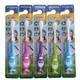 5只装儿童牙刷卡通软毛防滑刷柄独立装