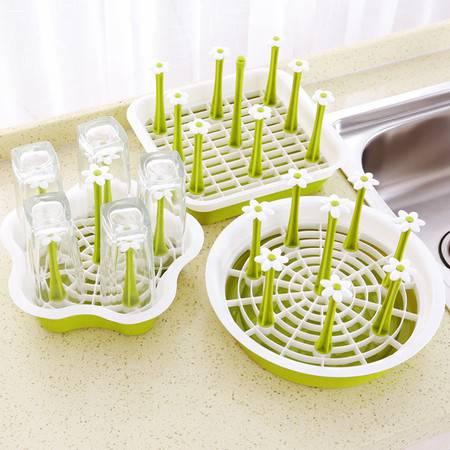 茶杯沥水架多功能家用水杯收纳架杯子托盘架