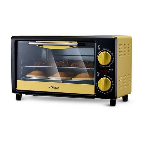康佳/KONKA 电烤箱 多功能家用迷你小型烘焙烤箱10L烘焙烘烤蛋糕面包饼干机