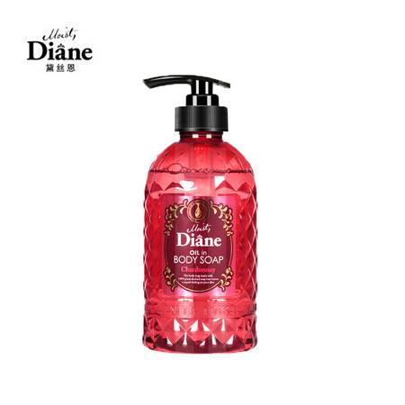 黛丝恩Moist Diane 精油沐浴露 莎当妮香型 500ml 日本原装进口