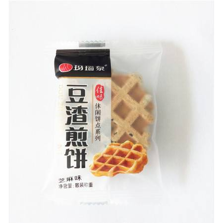 豆渣煎饼玛瑙泉牌八公山豆制品休闲煎饼富含大豆膳食纤维厂家直营