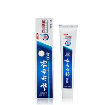 云南白药双效kang敏牙膏110g
