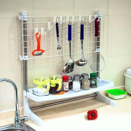宝优妮厨房调味品收纳架调料瓶架厨具层架烹饪用品锅铲挂架置物架
