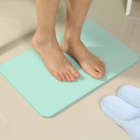 宝优妮 硅藻泥脚垫浴室防滑垫卫生间淋浴房硅藻土吸水地垫