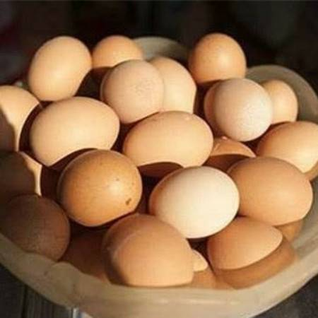 峡里村贫困户土鸡蛋50个