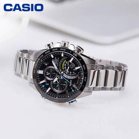 casio/卡西欧 EQB-501系列智能蓝牙太阳能多功能商务男士手表