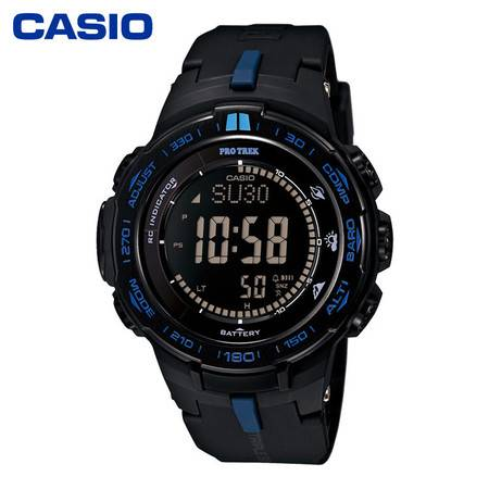casio/卡西欧 PRW-3100系列太阳能电波户外登山运动男表